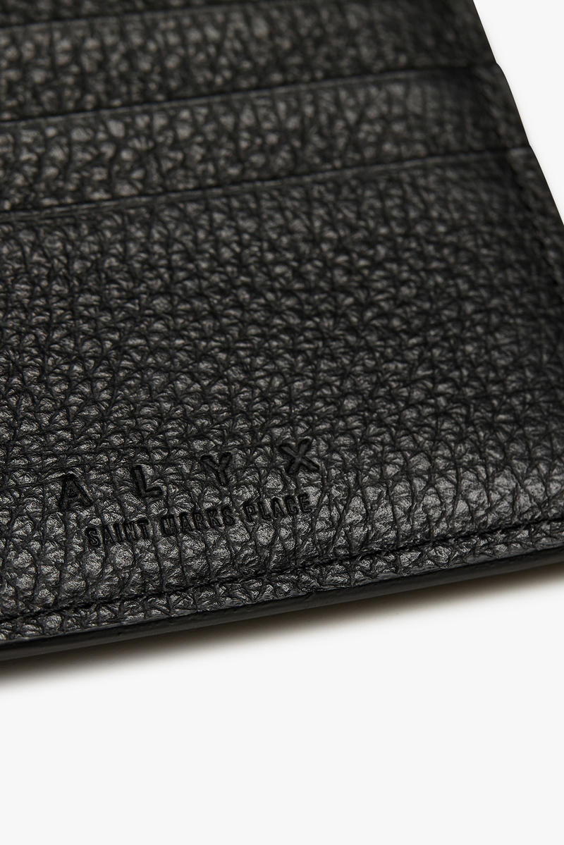alyx launch small leather goods wallets