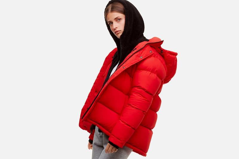 Aritzia Fall/Winter Sale Discount 50 Percent Off Sweater Dress Pants Jeans Skirts Jackets Super Puff Puffer Bomber Sweatpants Hoodie TNA Wilfred Babaton
