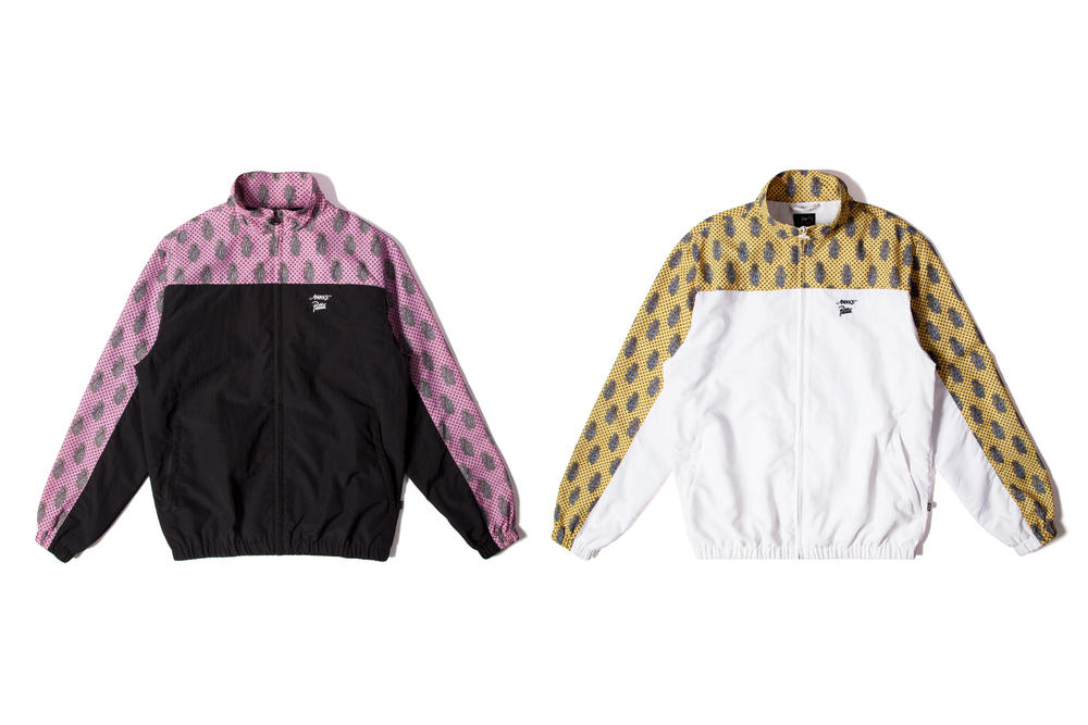 Awake NY Patta Tracksuit Collaboration Bold Print Retro Pink Yellow Black White Miami Art Basel