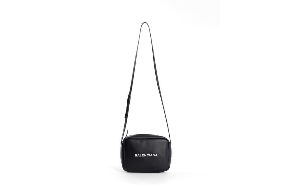 Balenciaga Shoulder Crossbody Bag Black
