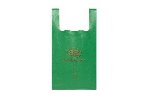 ff097d752 Balenciaga s New Capsule Features Luxe Shopping Bags
