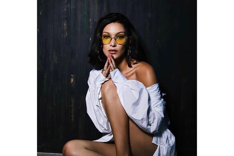 Bella Hadid Chrome Hearts Sunglasses Collaboration Yellow Teaser Accessories Chrome Hearts x Bella Eyewear