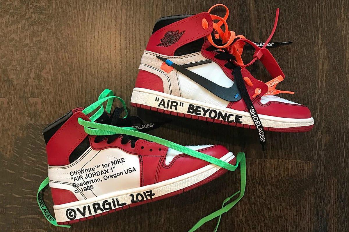 Virgil Abloh x Nike Air Jordan 1