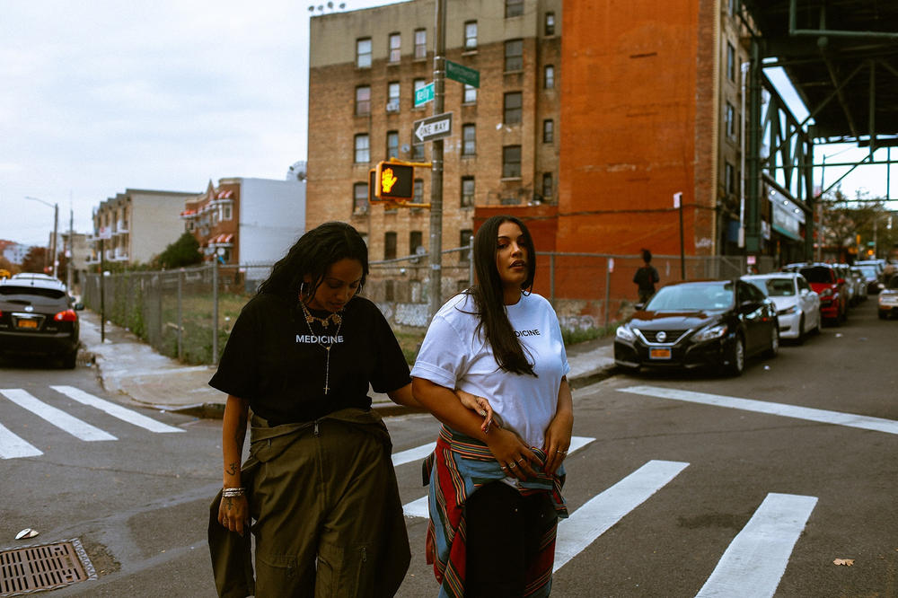 BornxRaised Fall Winter 2017 Lookbook bronx new york paloma elsesser venus x