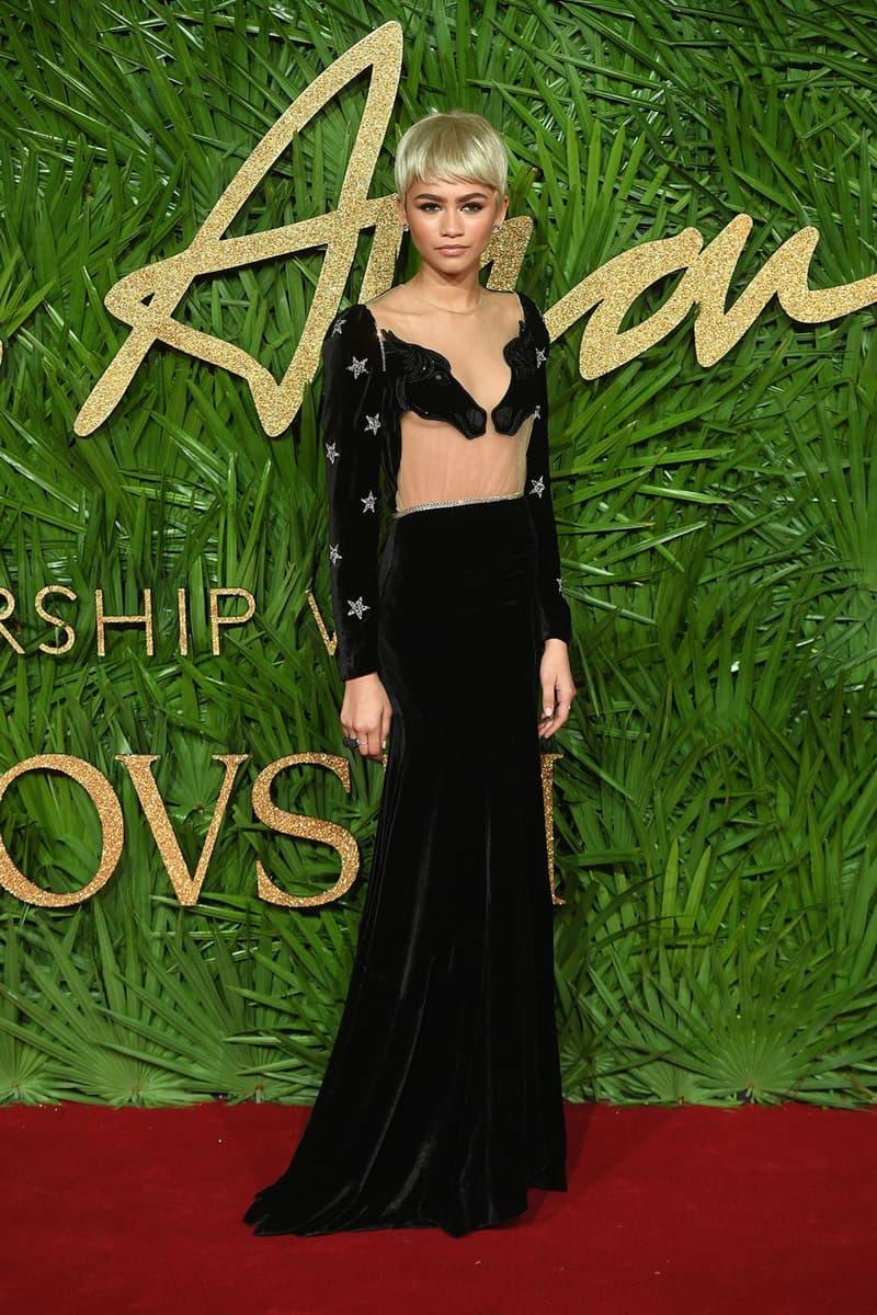 British Fashion Awards 2017 Red Carpet Best Looks Selena Gomez Alexa Chung Jourdan Dunn Adwoa Aboah Hailey Baldwin Rita Ora Karlie Kloss Donatella Versace Kaia Gerber