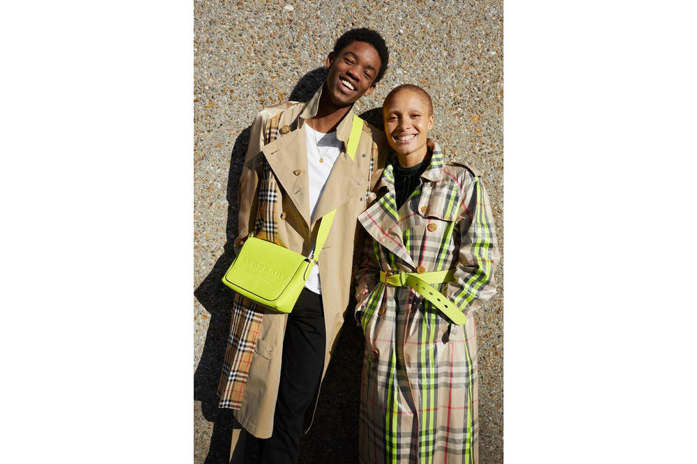 Juergen Teller x Adwoa Aboah Burberry Photo Series