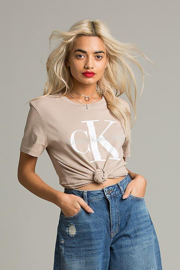 Calvin Klein Jeans Sweater Crewneck Sweatshirt T-Shirt Tee Dress Logo