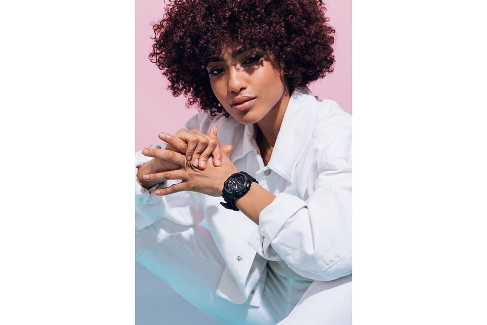 Casio G-Shock Ana-Digi Step Tracker Women Lookbook S Series Watch Pink Blue Pastel White Black