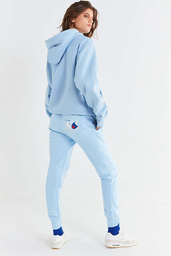 Champion x Urban Outfitters Sky Jogger Pant Graphic Hoodie Sweatshirt