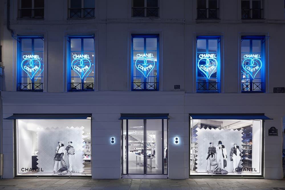 Chanel x colette Paris Pop-Up