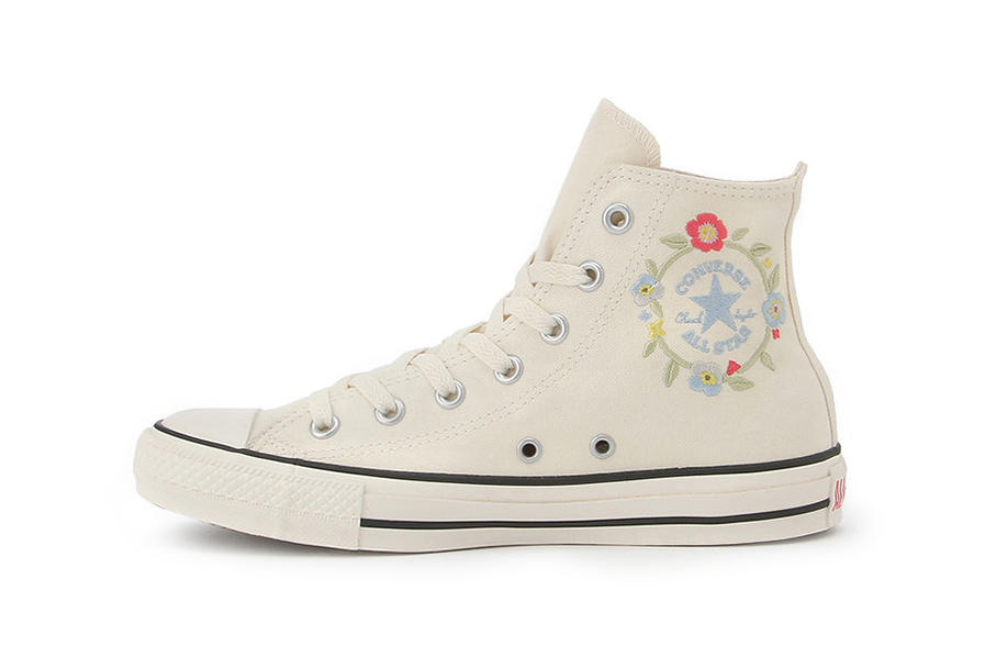 Converse Chuck Taylor All Star Flowercrown White Black
