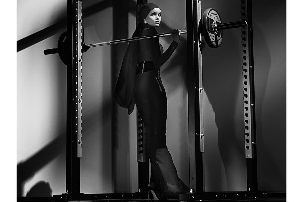 Gigi Hadid in CR Fashion Book First 2018 Calendar Carine Roitfeld Joan Smalls Halima Aden Binx Walton Grace Elizabeth Paris Jackson