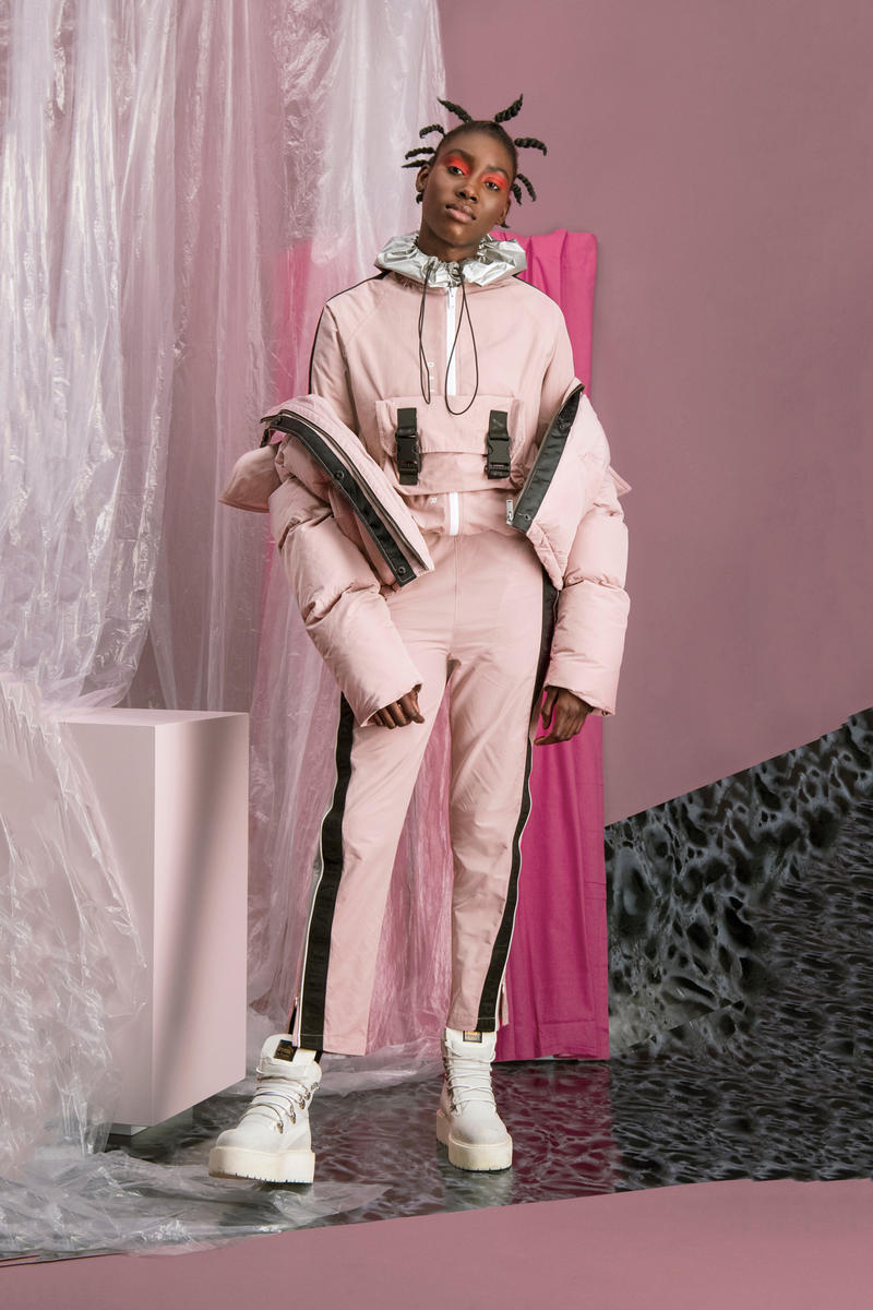 Daily Paper Women Children of the City Collection Lookbook Amsterdam Bomber Jacket Overalls