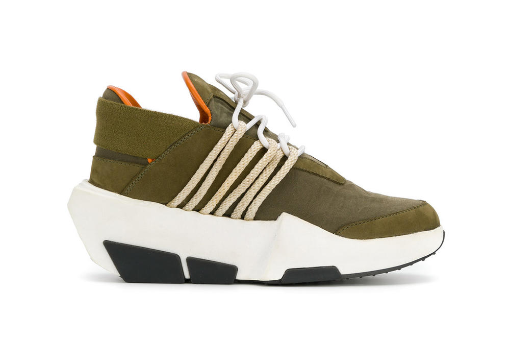 Farfetch The Shoe Surgeon Customized Sneakers Maison Margiela MM6 Y-3 Mira Limited Edition One Of A Kind