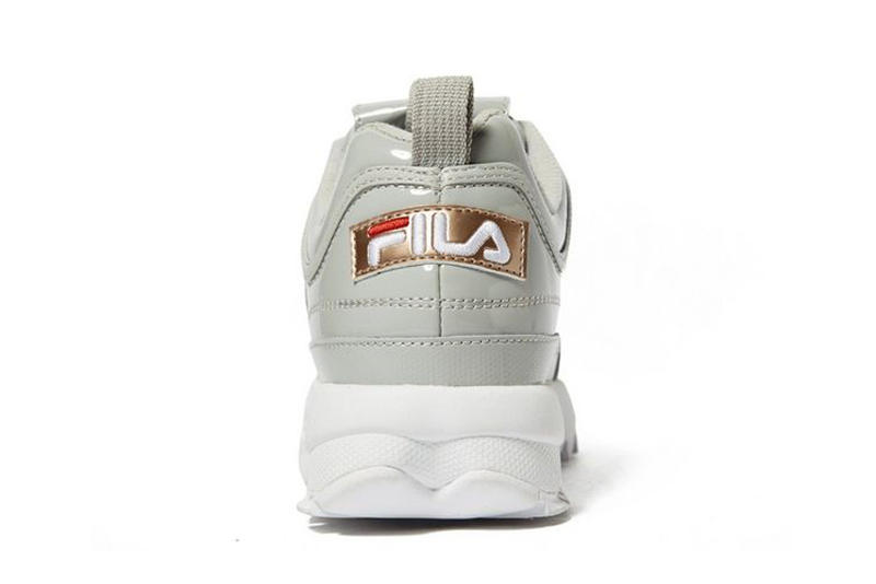 FILA Disruptor 2 II Sneaker Chunky Dad Shoe Glossy Shiny Grey Upper Sporty Retro 90s JD Sport