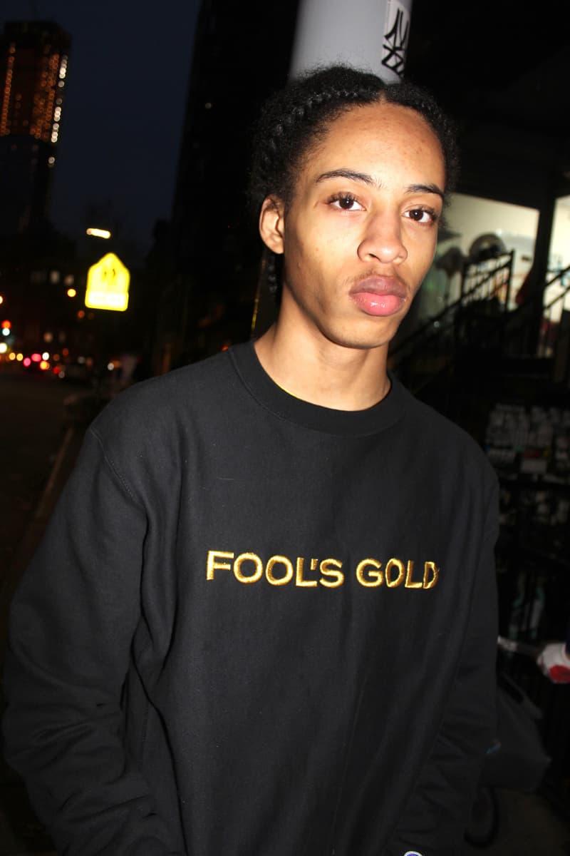 fool's gold fall winter 2017 lookbook 10 year anniversary brooklyn a-trak leaf