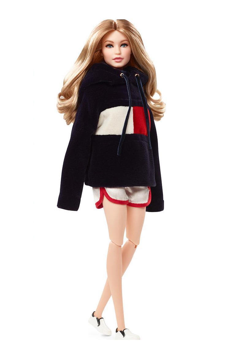 Gigi Hadid x Tommy Hilfiger Barbie Doll Collaboration Mattel Toys Gigi x Tommy