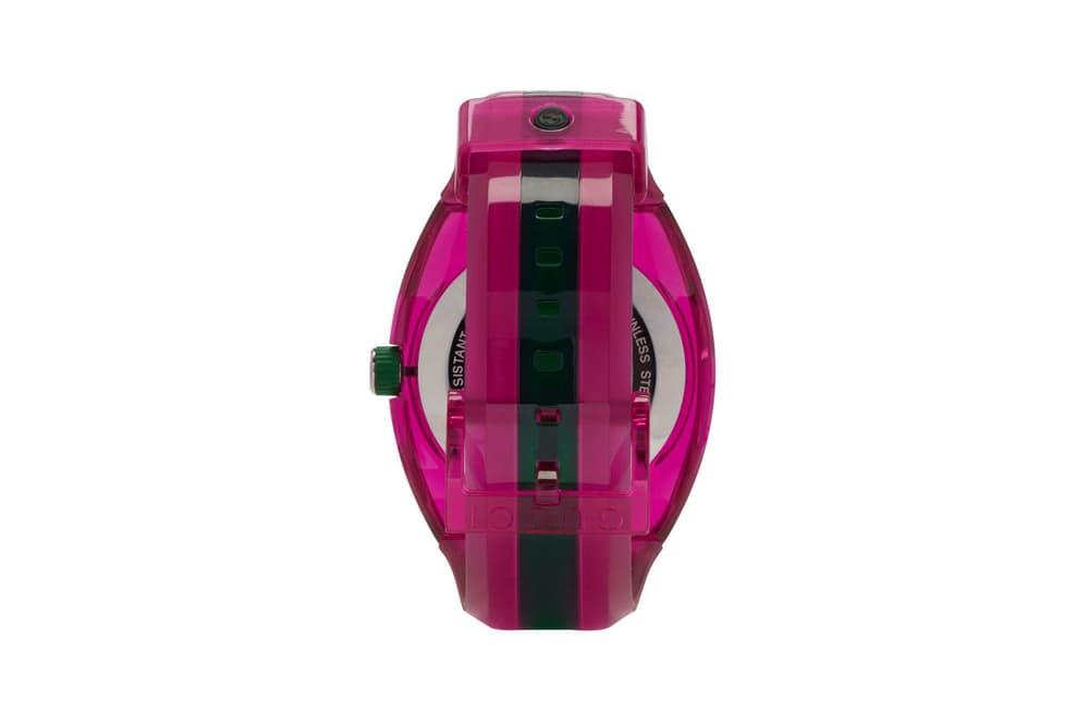 "Gucci G-Sync Watch ""Pink/Green"""