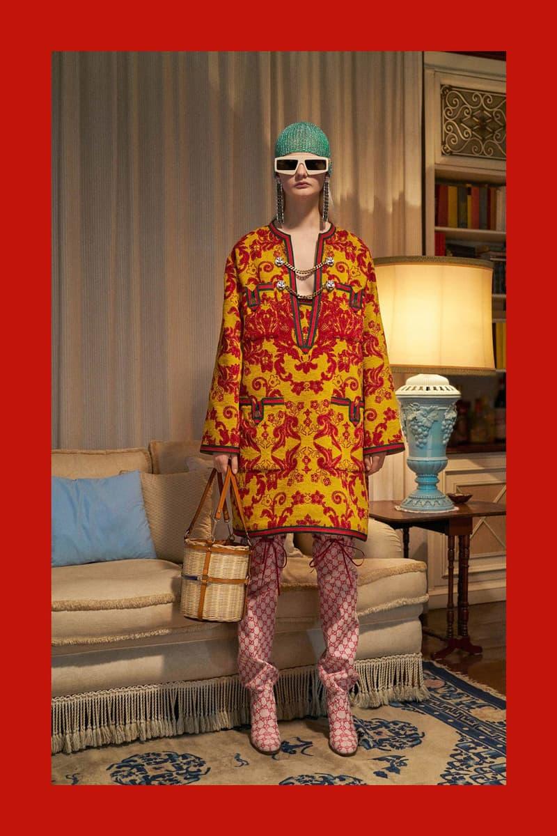 Gucci Pre-Fall 2018 Collection Alessandro Michele Lookbook