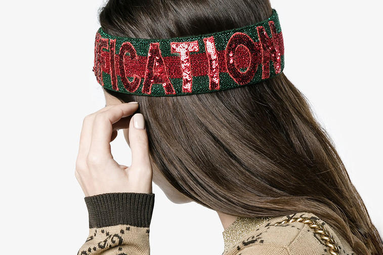 30113496 Gucci's Sequin Headband Is Perfect for NYE | HYPEBAE