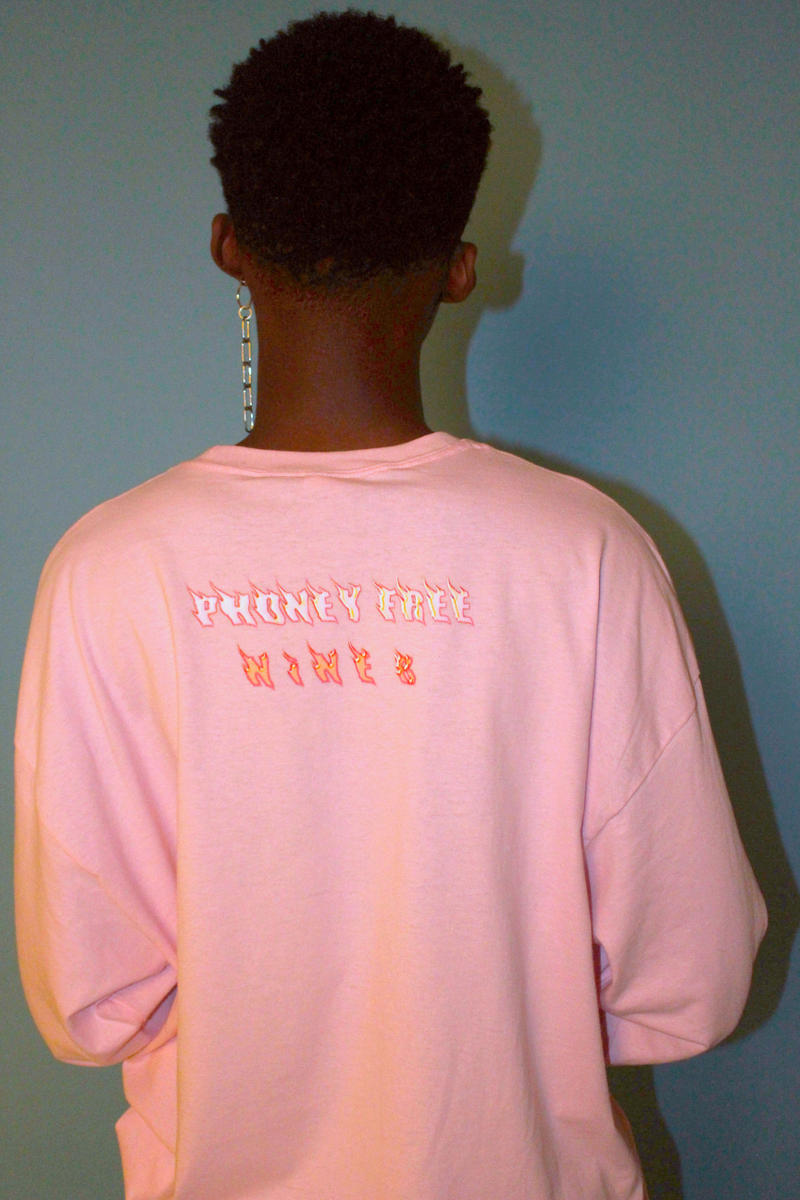 HAUS of NiNE8 Collective Lookbook Collection Colorful Streetwear Handmade Print Color Hoodie Etsy Revamping Rework One of a Kind