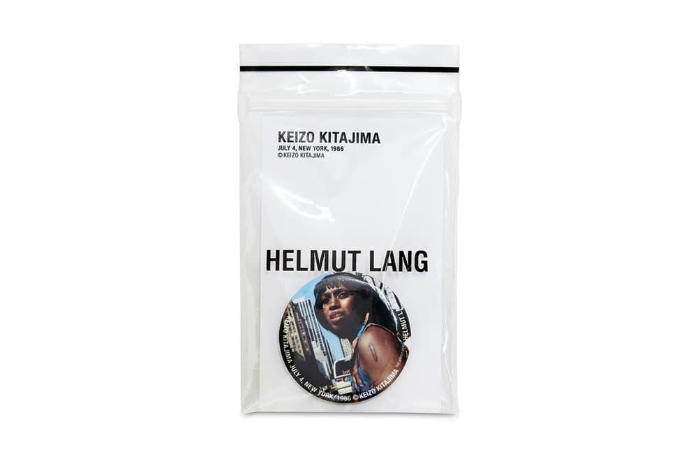 Helmut Lang Shayne Oliver Keizo Kitajima Artist Series Collection Portraiture Print T-Shirt Pin Black and White Street Photography Art