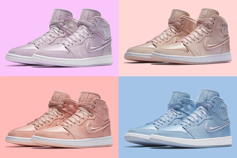 a76500be1ffe Women s Exclusive Pastel Air Jordan 1 Pack