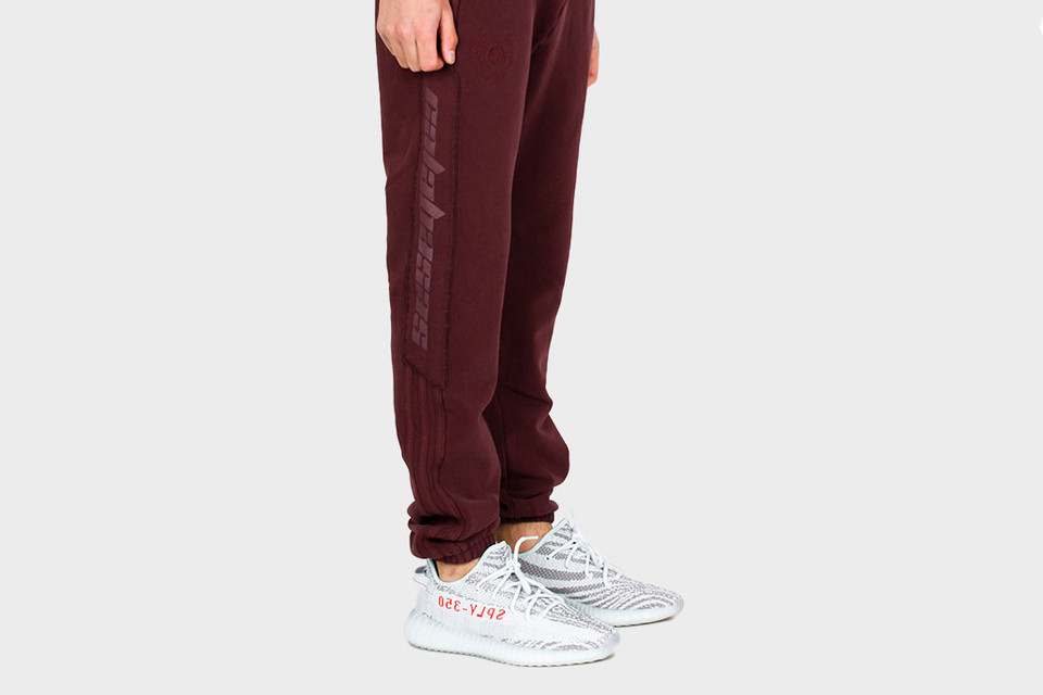 6d266ade5004e YEEZY Season 5 Releases Track Pants in Burgundy