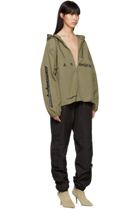 Kanye West YEEZY Season 5 Women Drop Hoodie Windbreaker Track Pants Calabasas