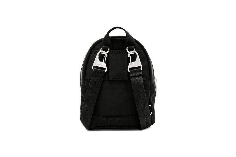 Kenzo Nylon Mini Backpack Black