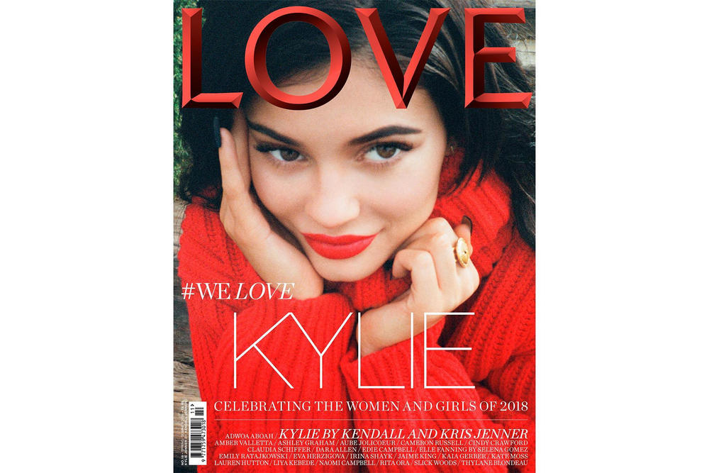 kylie jenner love magazine kendall kris interview