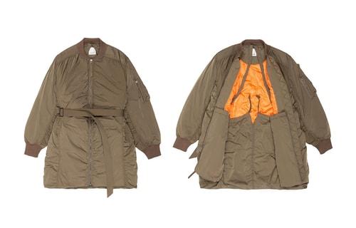 f3b2e628c maharishi s Lux Flight Nylon Outerwear Will Keep You Warm All Winter