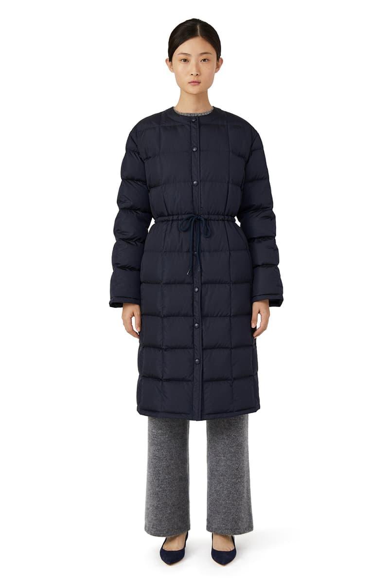 Mansur Gavriel Puffer Jacket Collection Millennial Pink Pastel Orange Navy Blue Black