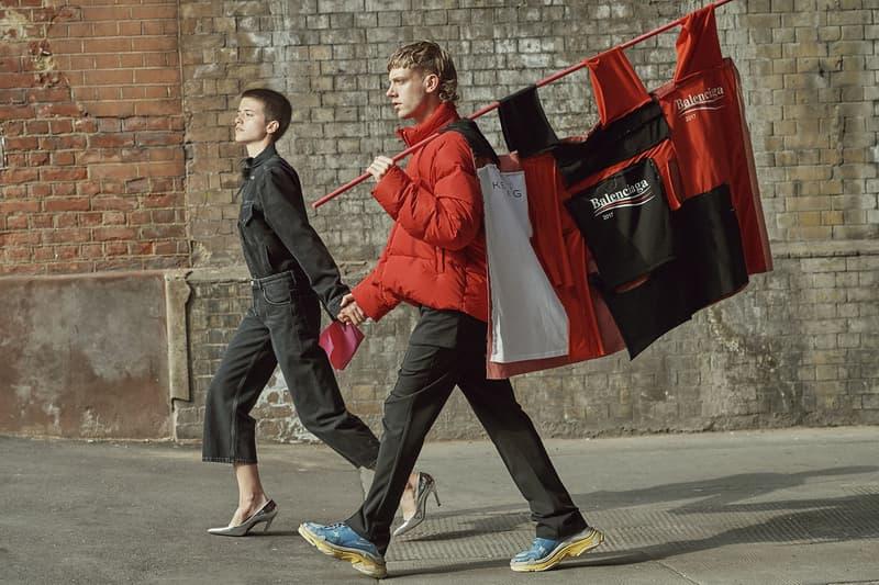 Balenciaga Men Women Runway Shows Combine Demna Gvasalia Paris Fashion Week