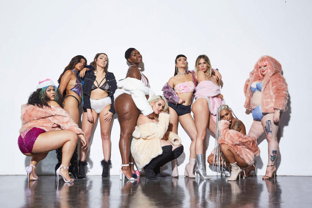 Missguided make your mark campaign 2017 winter body positivity felicity hayward