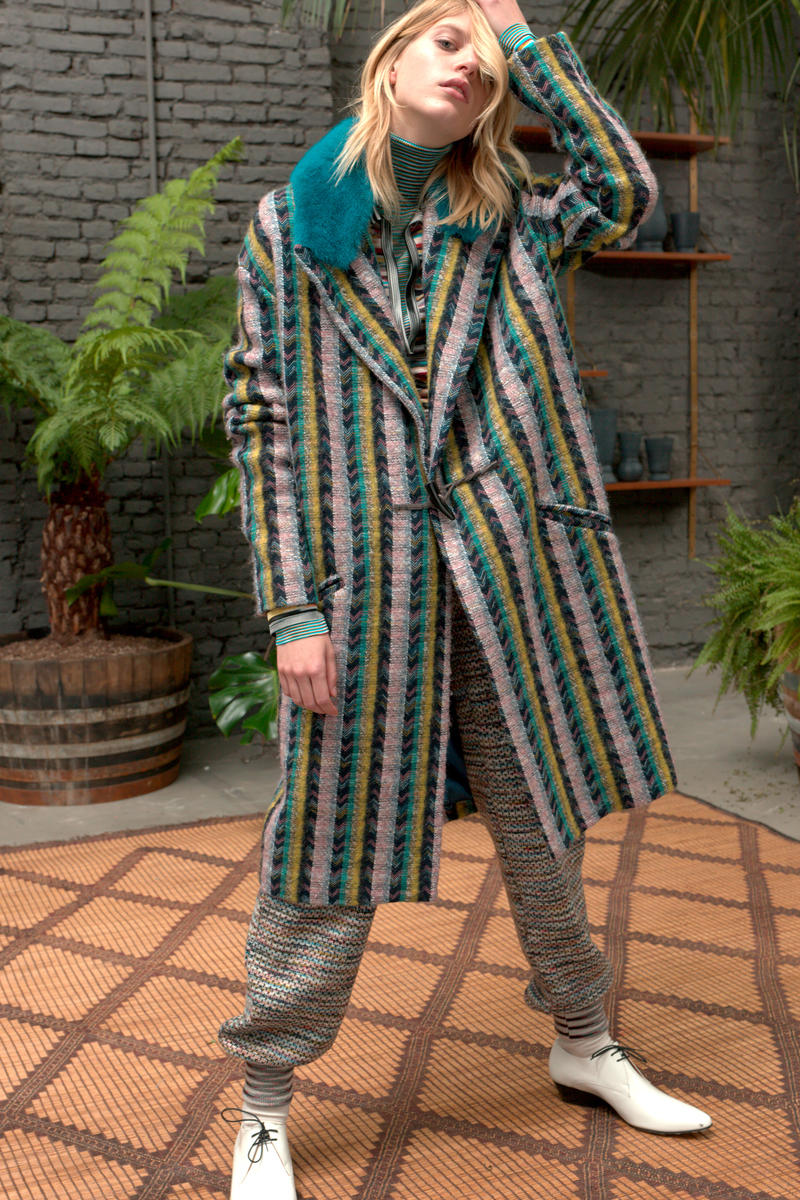 Missoni Pre-Fall 2018 Collection Lookbook Pattern Color Texture Knits Outerwear Fashion