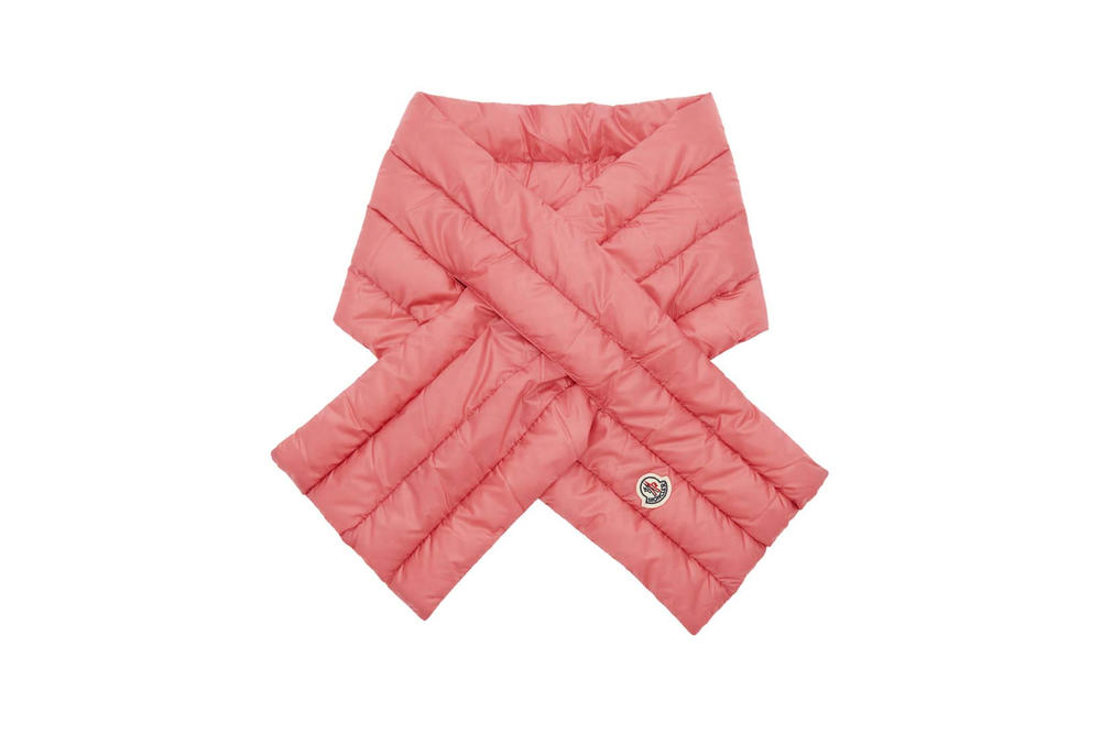 Moncler Down Scarf Coral Pink
