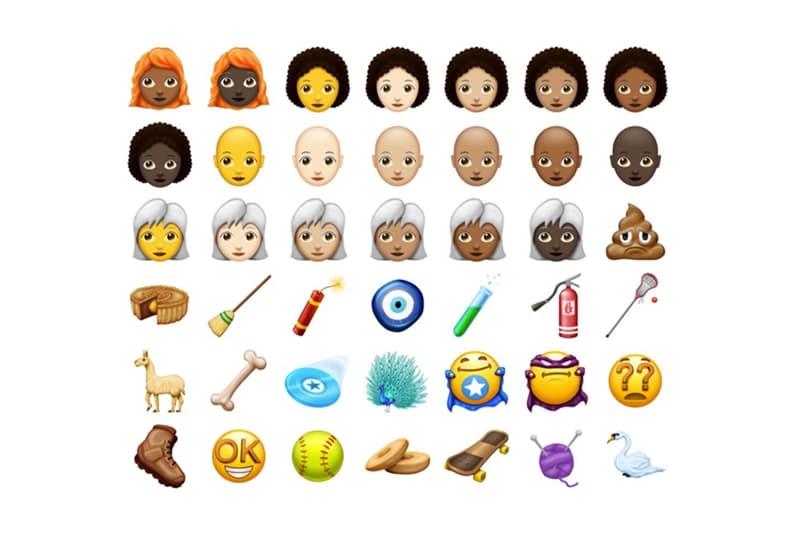 Unicode Natural Hair Emoji 2018
