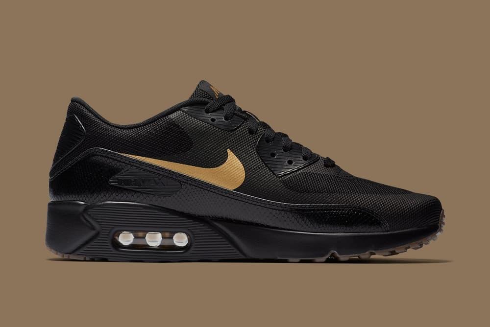 Nike 2018 Black Gold Air Max Plus