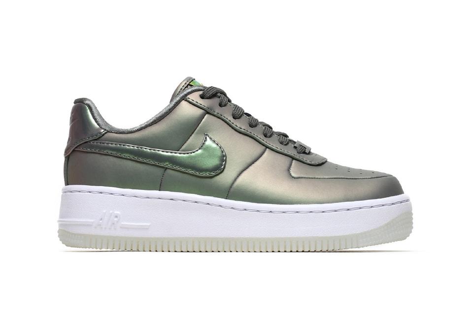 separation shoes 9195e 00232 Nike Drops a Metallic Air Force 1 Upstep LX   HYPEBAE