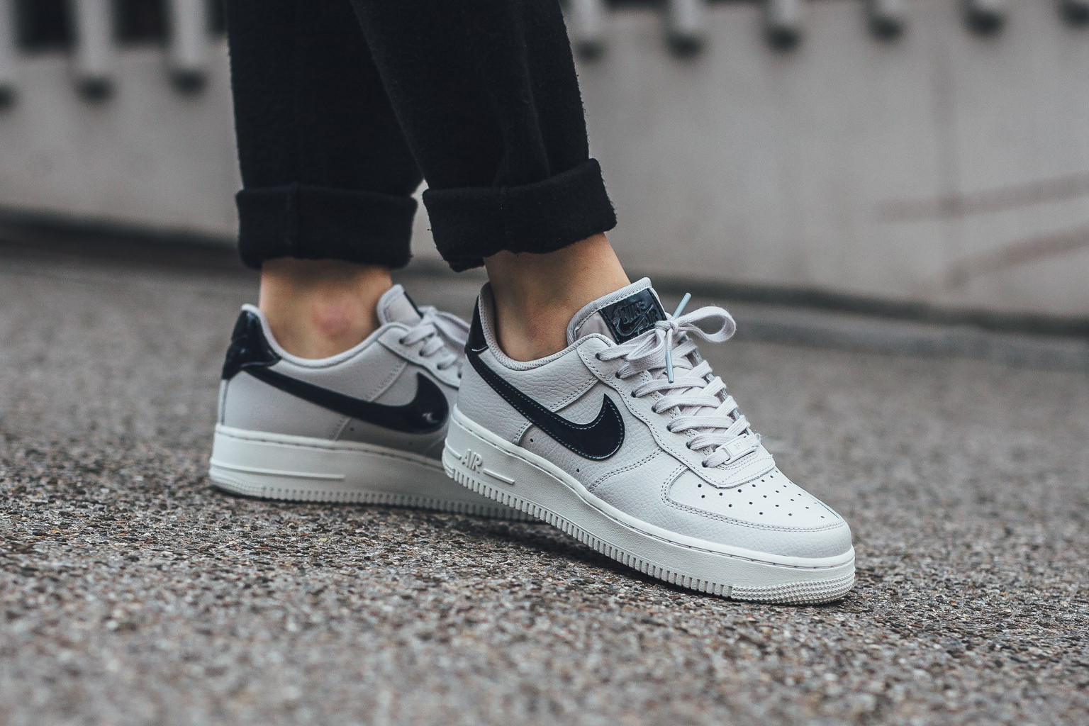 nike air force 1 low vast grey