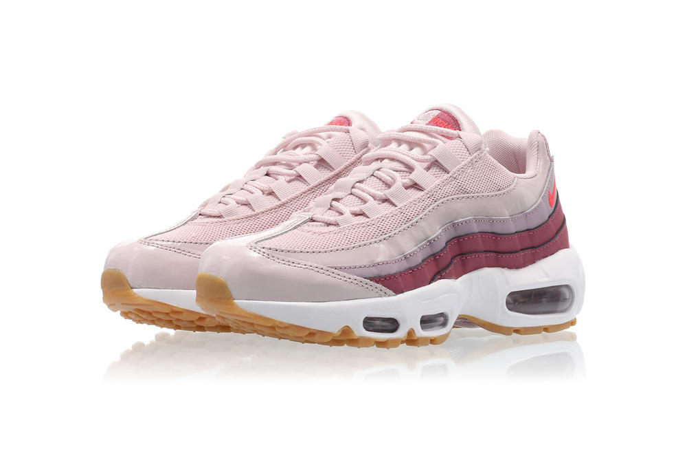 787d087c9820 Nike Air Max 95 Barely Rose Hot Punch Vintage Wine White Pink