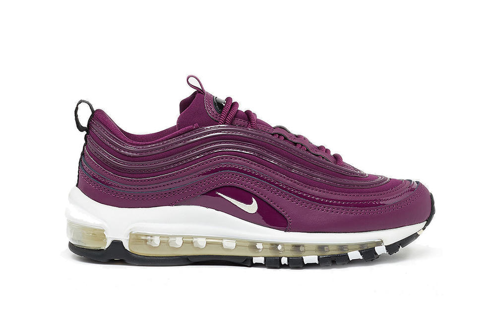 Nike Air Max 97 Silhouette Bordeaux Wine Burgundy Dark Red Winter Fall Colorway Sneaker Shoe Classic Retro Timeless