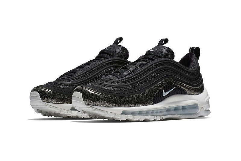 nike air max 97 pinnacle black glacier blue sparkly