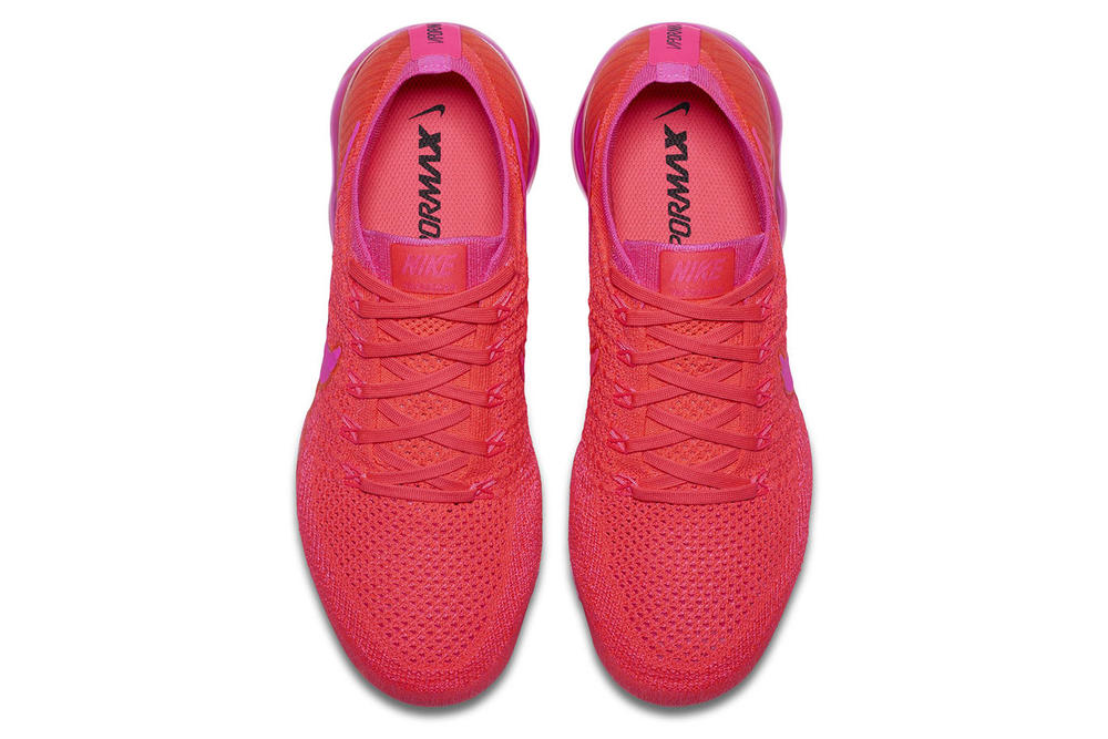 Nike VaporMax Bright Crimson Hot Pink Red