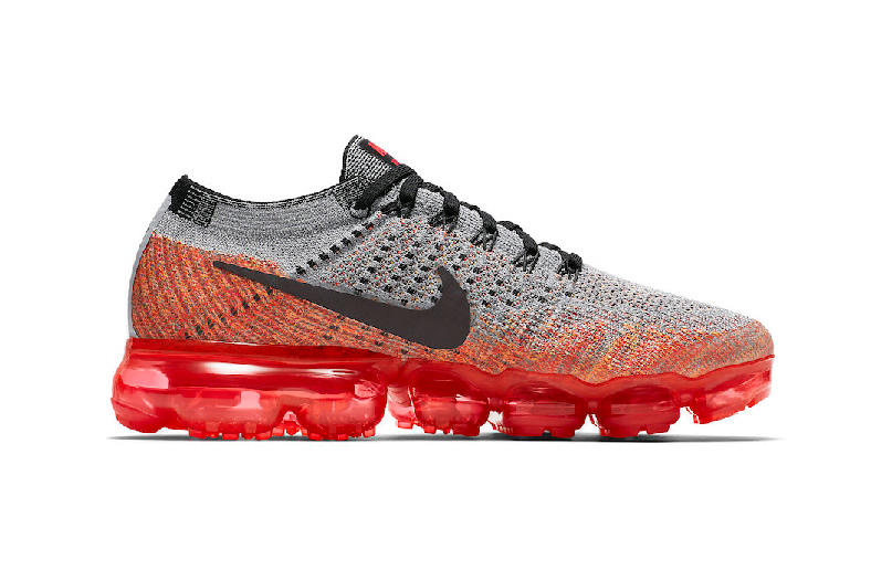 9dacf87d7f0ec nike air vapormax wolf grey bright crimson red womens ladies girls sneakers