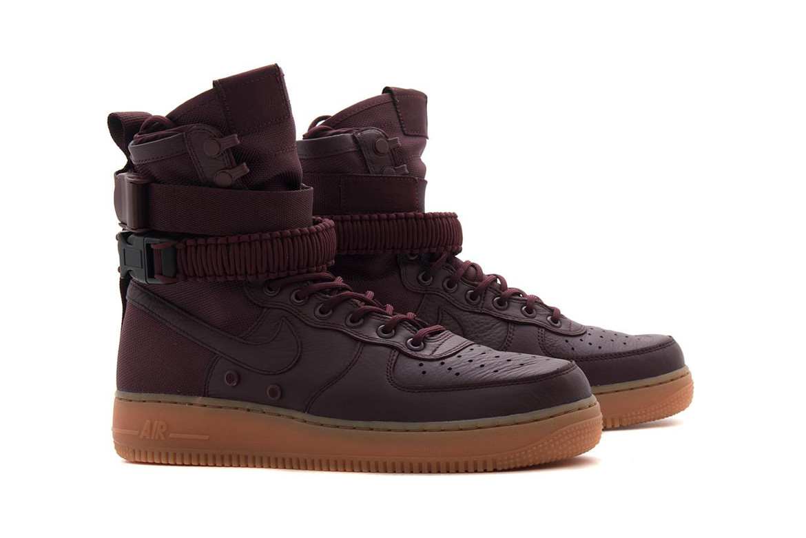 nouveau style 83654 b7033 Nike Releases the SF-AF1 in Deep Burgundy | HYPEBAE