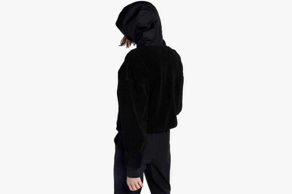 NikeLab Essentials Sherpa Hoodie Sail Black