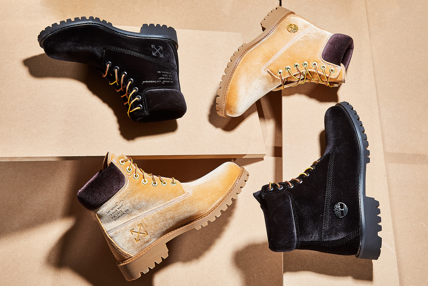 Off-White x Timberland Boots Release at