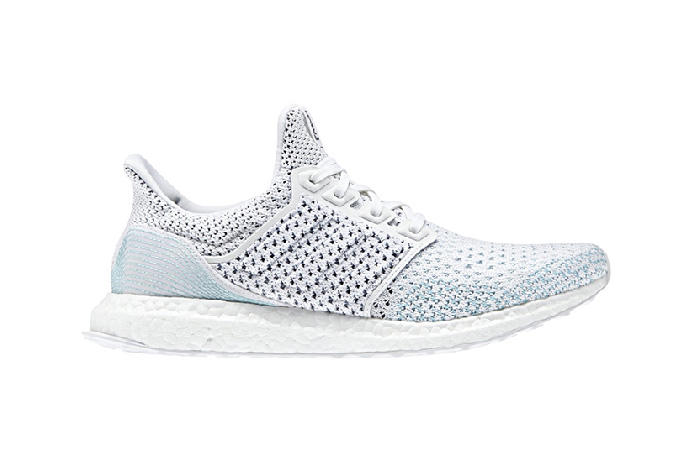 9f0f58ab0 Parley x adidas Originals Reveal a New UltraBOOST for 2018. In icy-cool  blue and white.